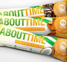 About Time Fruit, Nut & Protein Bar