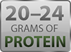 Gluten Free Protein Bars with 20-24g of protein