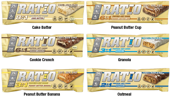 Ratio Bar Flavors